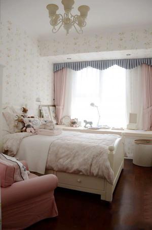 152平米经典美式风格大户型室内装修效果图