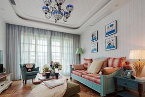 地中海风格精致复式楼室内装修效果图鉴赏