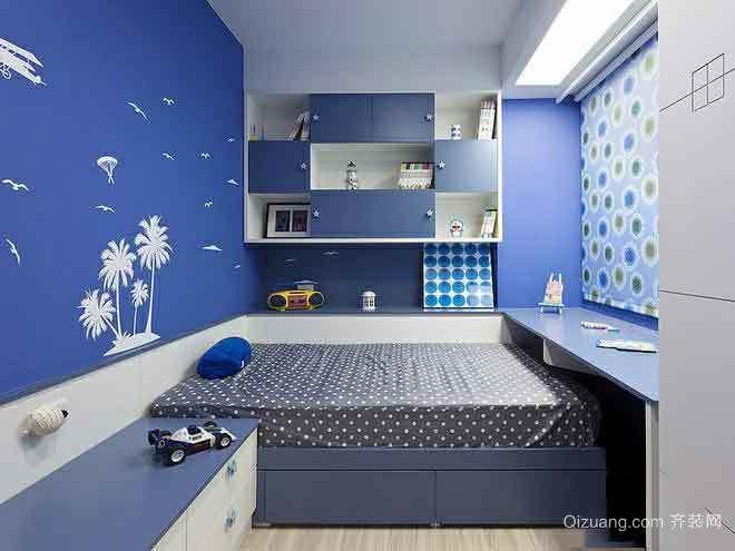 6平米现代简约风格儿童房装修效果图鉴赏