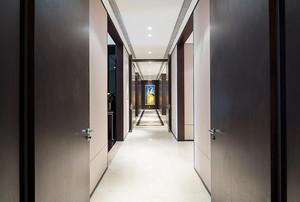 现代风格大户型室内过道吊顶装修效果图赏析