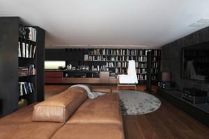 138平米后现代风格大户型室内装修效果图赏析