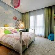 可爱简欧风格大户型室内儿童房装修效果图