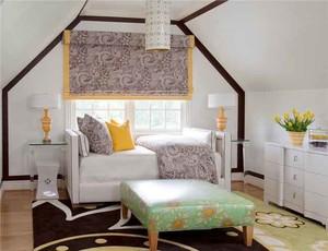 简欧风格两居室飘窗设计装修效果图