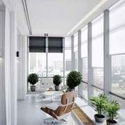 简约风格大户型封闭式阳台设计装修效果图