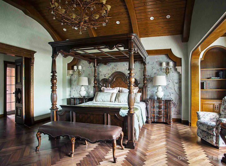 古典美式风格别墅室内装修效果图鉴赏