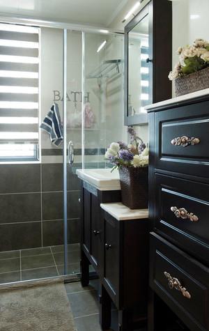 美式风格三室两厅一卫室内装修效果图赏析