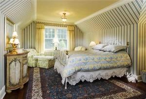欧式风格精致典雅卧室装修效果图鉴赏