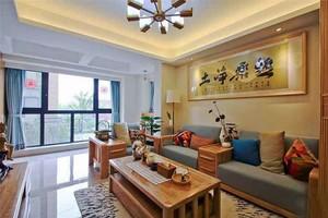 亲近自然日式风格两室两厅室内装修效果图赏析