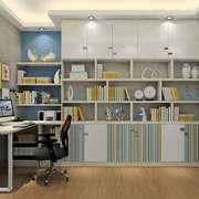 现代简约风格小户型书房设计装修效果图