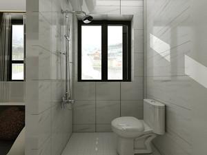 5平米现代简约风格小卫生间装修效果图