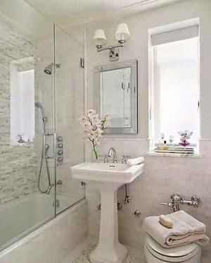 现代简约风格卫生间淋浴房装修效果图大全