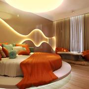 26平米现代风格卧室窗帘设计效果图赏析