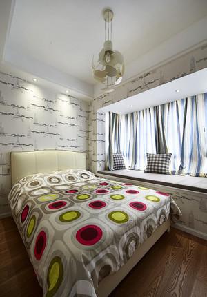 23平米现代简约风格卧室飘窗装修效果图