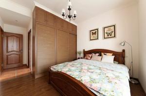 29平米现代美式风格卧室衣柜设计效果图赏析