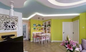 现代简约风格明亮两室一厅室内装修效果图