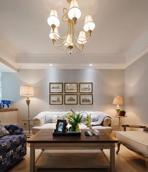 现代简约欧式风格两室两厅一卫室内装修效果图