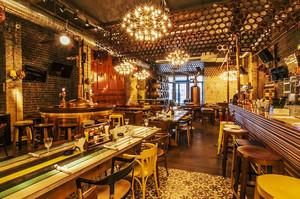 278平米后现代风格酒吧装修效果图赏析