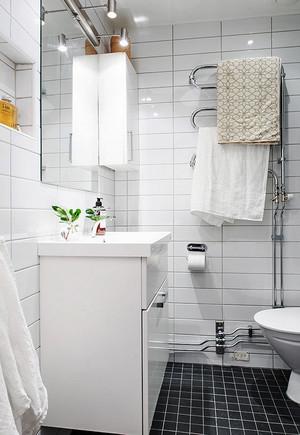 66平米北欧风格小户型室内装修效果图