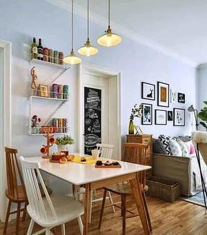 北欧风格小户型餐厅设计装修效果图图片