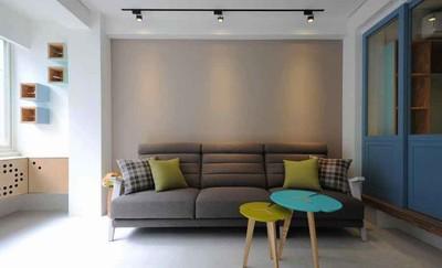 北欧风格小户型客厅沙发装修效果图