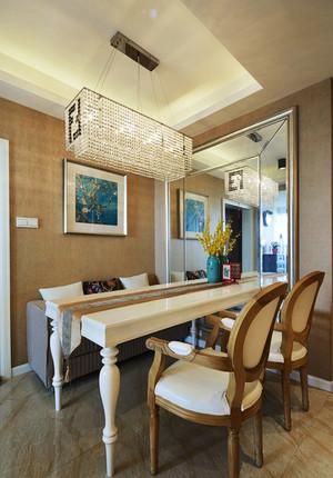 简欧风格三居室餐厅吊灯装修效果图赏析