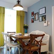 现代风格小户型餐厅照片墙装修效果图鉴赏