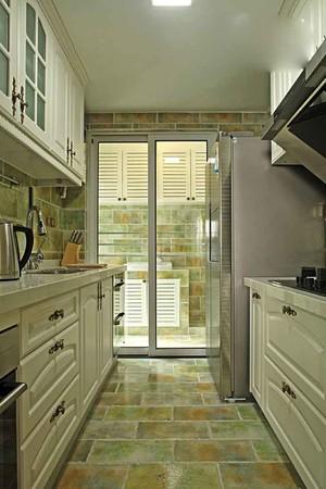简欧风格两居室厨房推拉门装修效果图