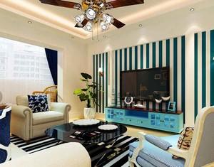 78平米地中海风格一居室室内装修效果图赏析