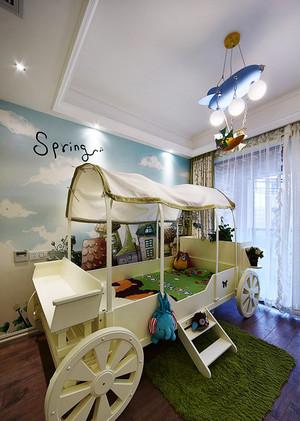 19平米简欧风格儿童床设计效果图赏析