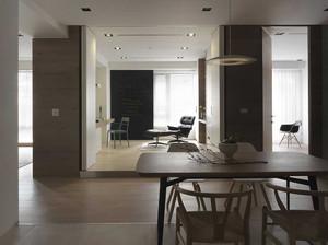 80平米后现代风格室内装修效果图案例