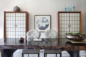 美式风格两室两厅一卫室内装修效果图鉴赏