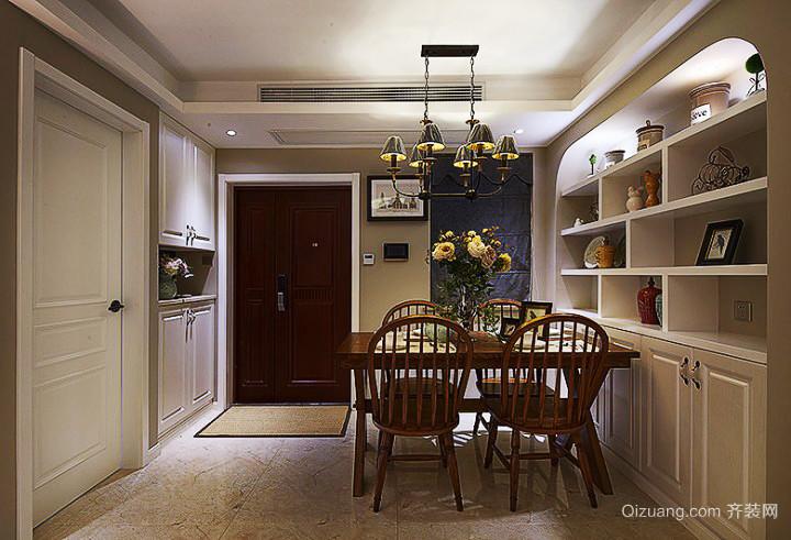 90平米古典美式风格室内装修效果图鉴赏