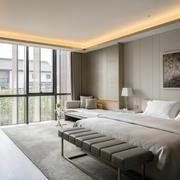 25平米现代风格卧室装修效果图鉴赏