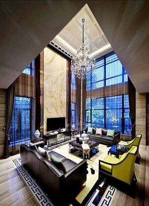 后现代风格大户型室内装修效果图鉴赏