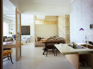 80平米精致典雅现代风格室内装修效果图鉴赏