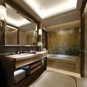 新中式风格大户型卫生间装修效果图