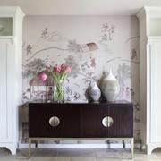 中式风格大户型客厅玄关设计效果图赏析