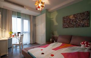 精致典雅现代简约风格两室两厅一卫室内装修效果图