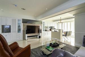 86平米现代简约风格两居室婚房装修效果图案例