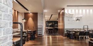 180平米现代风格餐厅装修效果图赏析