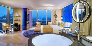 90平米现代简约风格宾馆装修效果图赏析