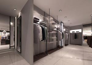 208平米现代风格服装店装修效果图赏析