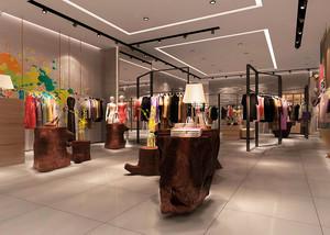 176平米现代风格服装店装修效果图鉴赏