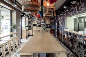 130平米东南亚风格餐厅装修效果图赏析