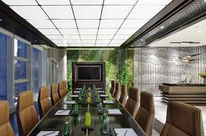 125平米现代简约风格会议室装修效果图赏析