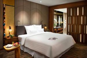 45平米现代风格宾馆房间装修效果图赏析