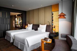 76平米现代风格宾馆装修效果图赏析