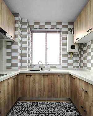 79平米北欧风格两室两厅室内装修效果图赏析