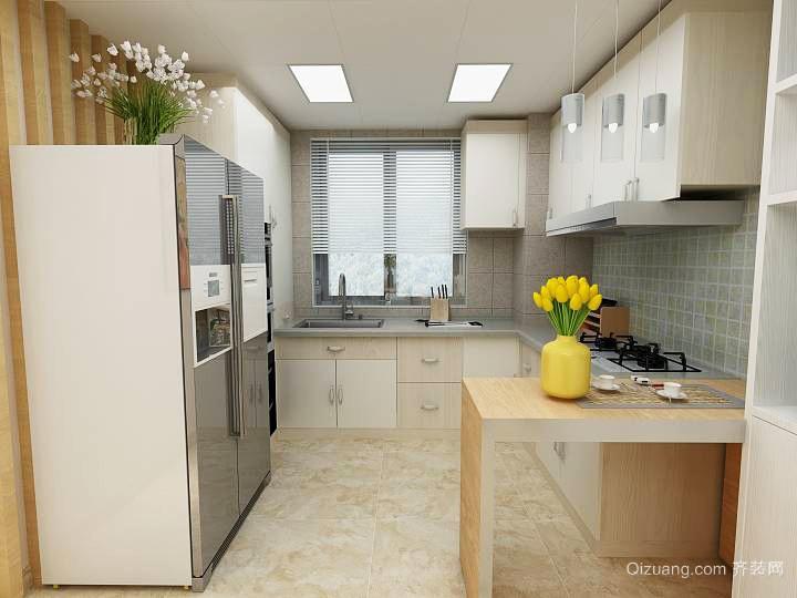 10平米现代简约风格厨房装修效果图鉴赏