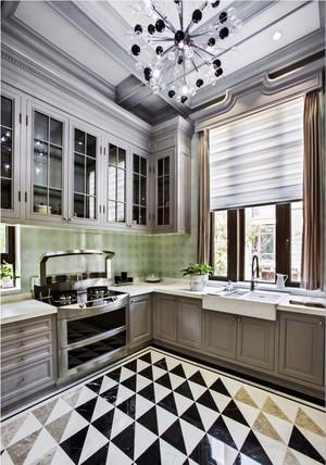 12平米现代风格厨房装修效果图赏析